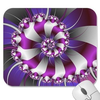 Snail Shell Fractal Mousepad from Zazzle.com | complexity matters | Scoop.it