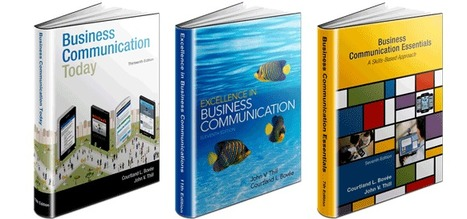 Order Examination Copies of Bovee and Thill Business Communication Textbooks | Teaching Business and Interpersonal Communication in a Business Communication Course | Scoop.it