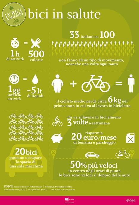 La bici fa bene all'ambiente e alla nostra salute! | Offset your carbon footprint | Scoop.it