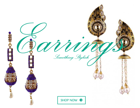 Traditional Earrings Jewelry of Indian styles for special occasion | Online Shopping India | Scoop.it