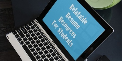 Blending Relatable Resume Resources 4 Students | iPad Lessons | Scoop.it