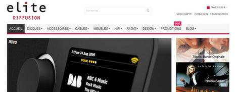 Elite Diffusion s'offre un nouveau site de vente en ligne | ON-TopAudio | Scoop.it