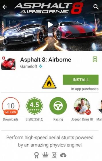 """Google ajoute un icône «en feu» au Play Store   Veille Techno et Informatique """"AutreMent""""   Scoop.it"""