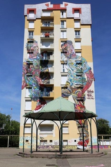 SHAKA, le peintre en relief - VULGARIZIT | World of Street & Outdoor Arts | Scoop.it