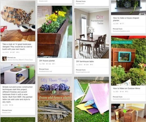 Five examples of brands that are nailing Pinterest | Econsultancy | Everything Pinterest | Scoop.it