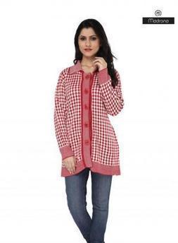 Cherry Color Women Winter Coat | Women Winter Clothes | Scoop.it