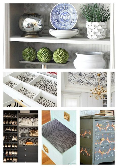 30 Creative Wallpaper Uses and Project Ideas | Creativity Scoops! | Scoop.it