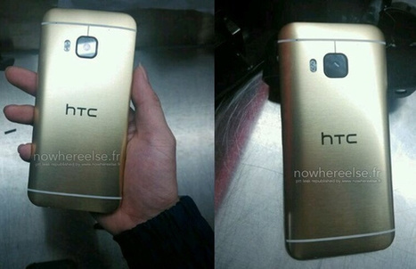HTC One M9 Gold-Clade Images Leaked | Mobile Phone News, Reviews & Offers | Scoop.it