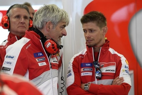 Ducati MotoGP team wants more from Casey Stoner in 2017 | Ductalk Ducati News | Scoop.it