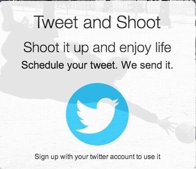 Tweet and shoot | Des petits outils qui changent la vie ! | Scoop.it