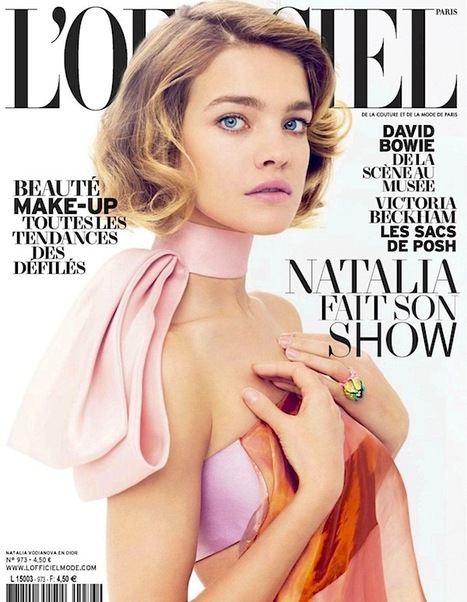 [cover] Natalia Vodianova by Benoît Peverelli for L'Officiel Paris | March 2013 | Fashion & more... | Scoop.it