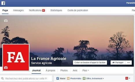 Communication : 20 % d'agriculteurs sur les réseaux sociaux | Internet world | Scoop.it
