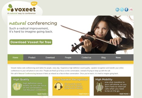 Voxeet - Download our free web conferencing software... | Time to Learn | Scoop.it