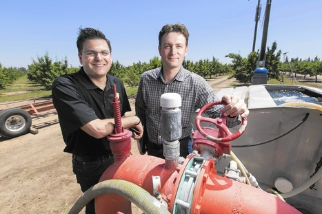 Silicon Valley struggles to pitch water-saving tech to farmers | Sustain Our Earth | Scoop.it