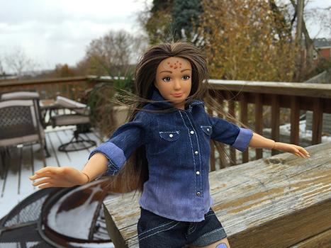 «Barbie Cellulite et acné» est enfin là (et n'est pas une Barbie mais une Lammily)   Pèle-mêle   Scoop.it