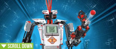 Lego EV3 Mindstorms bouwen en programmeren via iDevices | AppelStijl.nl | Get your kids to code | Scoop.it