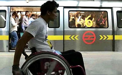 Enabling India: Accessible Metro - NDTV | Accessible Travel | Scoop.it