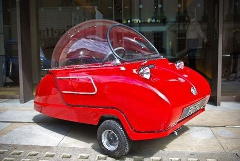 The Glorious Return of the World's Smallest Street-Legal Car | green streets | Scoop.it