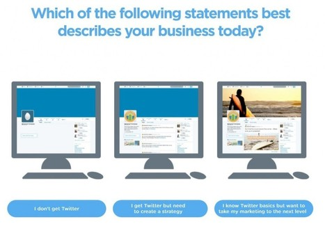 Twitter Launches Interactive Small Business Guide - AllTwitter | Digital-News on Scoop.it today | Scoop.it