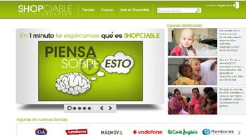 Compra en linea solidariamente con Shopciable   aprender a emprender   Scoop.it