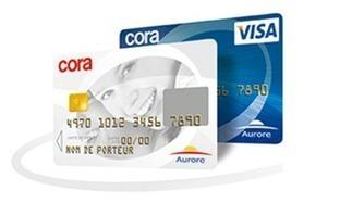 Carte Aurore Cora paiement crédit conso réseau Aurore Visa | Rachat de crédits | Scoop.it