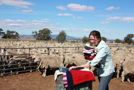 Women on farms take knitting online   Handcraft - knitting, crocheting, sewing, embroidery   Scoop.it