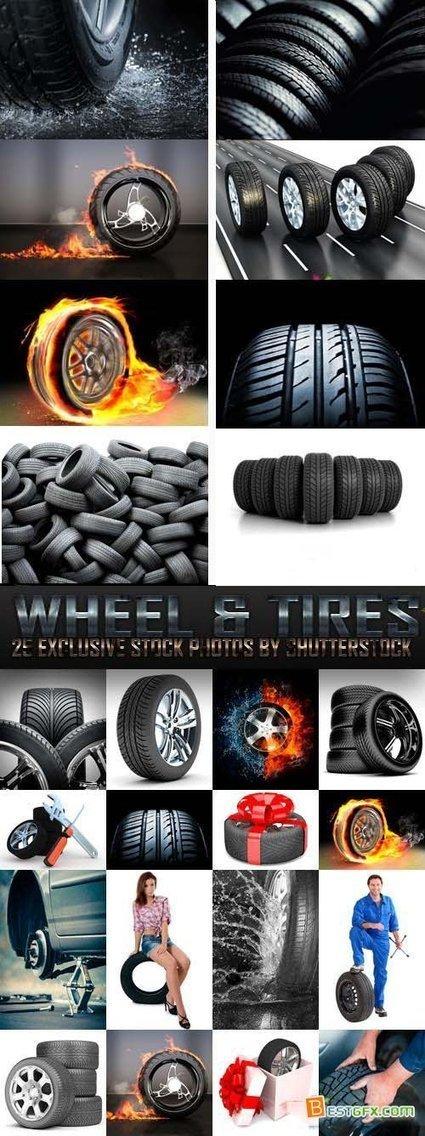 Wheel & Tires 25xJPG | DesignFeed | Scoop.it
