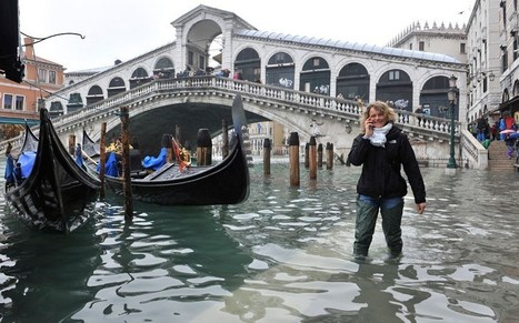 Venice under water during high tide flooding - Telegraph | Tuscany and its food | Scoop.it