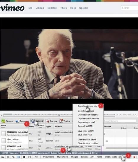 Télécharger une vidéo Vimeo directement depuis votre navigateur Chrome | Time to Learn | Scoop.it