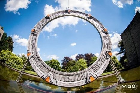 Stargate : une reproduction imprimée en 3D de la Porte des étoiles ! | The Blog's Revue by OlivierSC | Scoop.it