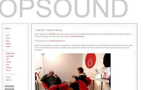Opsound, música sin derechos de autor [bajo licencias copyleft] para tus proyectos ... | Bibliotecas y Educación Superior | Scoop.it