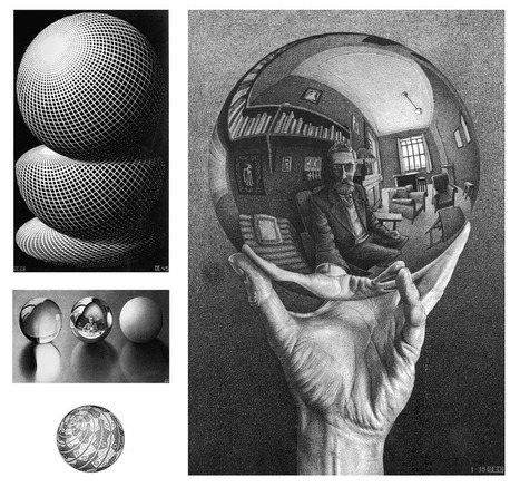 Escher et les sciences: l'obsession de l'infini ~ Sweet Random Science | PLASTICITIES  « Between matter and form, between experience and consciousness, the active plasticity of the world » | Scoop.it