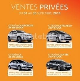 Les ventes privées continuent chez Citroën | Actualité Auto | Automobile Algérie | Scoop.it