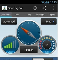 OpenSignal: Finds Networks With The Strongest Wifi Signal & Cellular Coverage Nearby [Android] | Bichos en Clase | Scoop.it