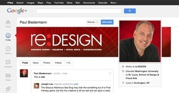 Welcome to the NEW Google+ Profile Page | BI Revolution | Scoop.it