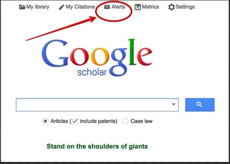 A Must Know Google Scholar Tip for Researchers and Educators ~ Educational Technology and Mobile Learning | Education | Scoop.it