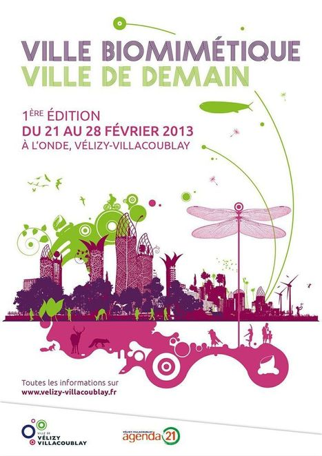 "Digital city and virtual worlds: Cycle de conférences ""Ville Biomimétique, Ville de demain"" 