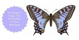23 Ways to Keep The Butterflies in Your Marriage at Husband Wife Life with Lamar and Ronnie Tyler | Marriage Articles | Scoop.it