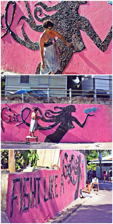 Mural Art for Breast Cancer Awareness | Utila | Scoop.it