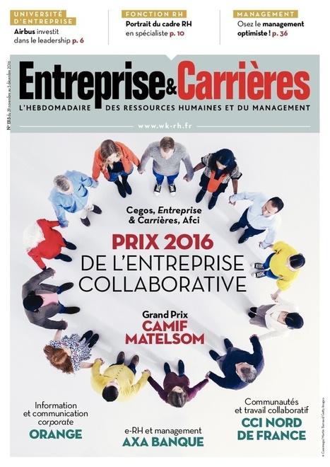 Prix de l'entreprise collaborative 2016 : des salariés de plus en plus impliqués dans les projets   Le Kiosque - GEA   Scoop.it