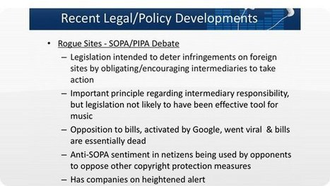 RIAA Doesn't Really Care About SOPA & PIPA; It Knew These Laws Were Useless All Along | T3x#Radio Magazine | T3x#Radio Magazine | Scoop.it
