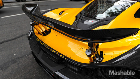 Uber is offering rides in a $1.1 million McLaren P1 - Mashable | MOBILITY | Scoop.it