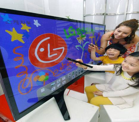 LG Unveils PZ850T TVs with Touch Pen Drawing Action | Technology and Gadgets | Scoop.it