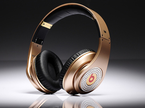 Eye-catching Monster Beats By Dr Dre Studio HD Champagne Gold Limited Edition Headphones With Diamond_hellobeatsdreseller.com | Beats Limited Edition Diamond_hellobeatsdreseller.com | Scoop.it
