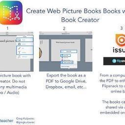 Create web picture book whit Book Creator | iPad classroom | Scoop.it
