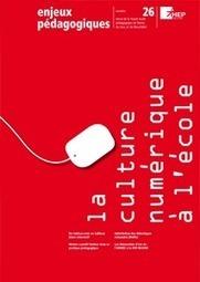 La culture numérique à l'école | Educommunication | Scoop.it