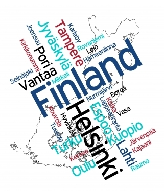 Awesome Finland Map! | FINLAND2013 | Scoop.it