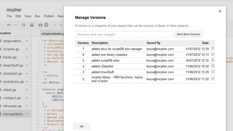 Passing parameters to Google Apps Script as a Rest Server | Excel Liberation | Scoop.it