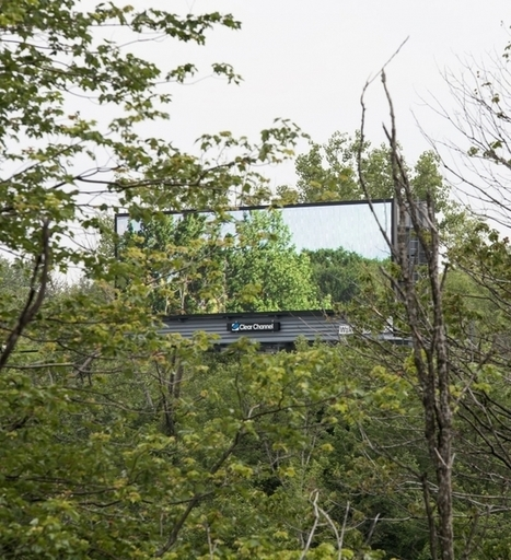 Why Two Billboards in Massachusetts Were Made to Look Like They're Not Even There | MarketingHits | Scoop.it