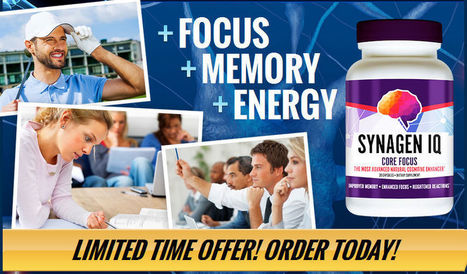 Can Synagen IQ Keep Your Brain Sharp? Watch out: SCAM! | psychoneuroinmunology | Scoop.it